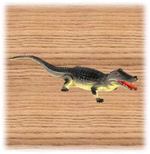 Ravensden 60cm Plastic Alligator