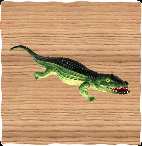 Ravensden 60cm Plastic Crocodile