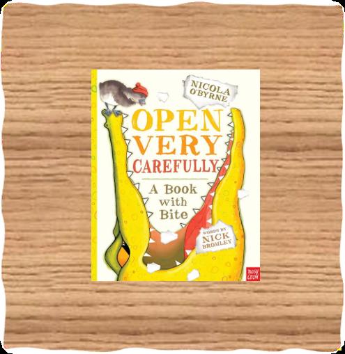 Open Very Carefully Book