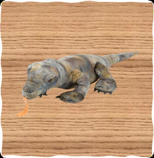 Wild Republic 60cm Komodo Dragon