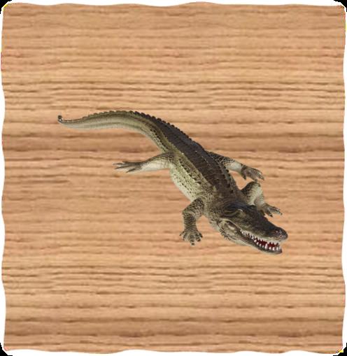 Ravensden 30cm Plastic Alligator