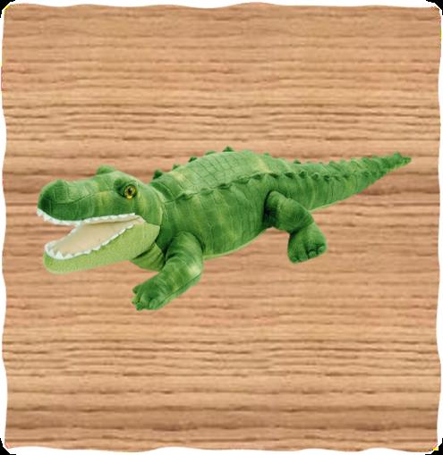 Wild Republic 38cm Green Alligator