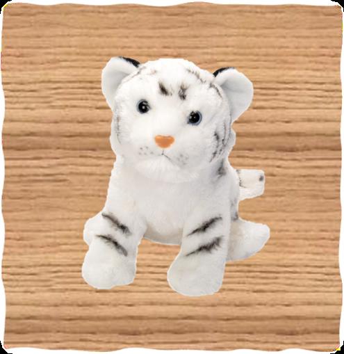 Wild Republic 30cm White Tiger