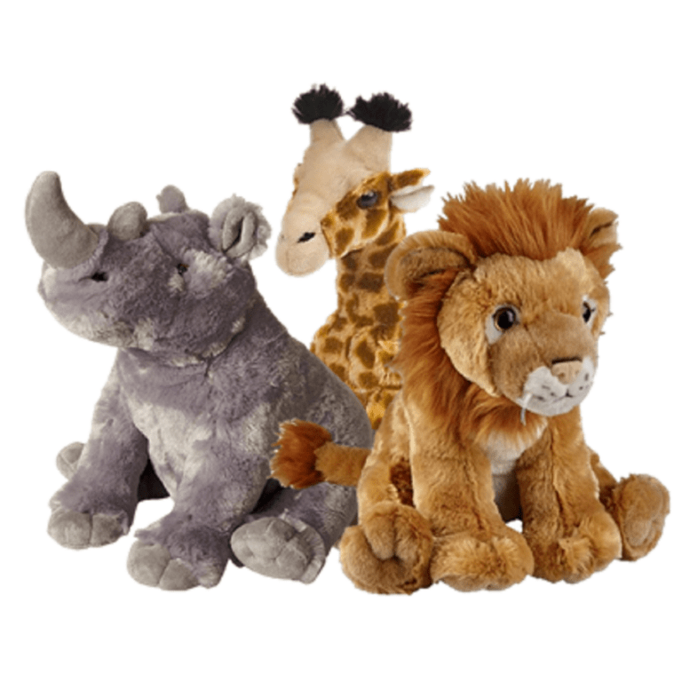 Plush Toys - Wild animals