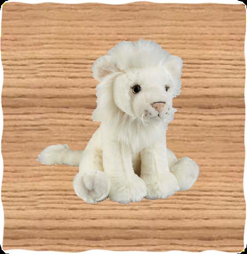 Ravensden 30cm White Lion