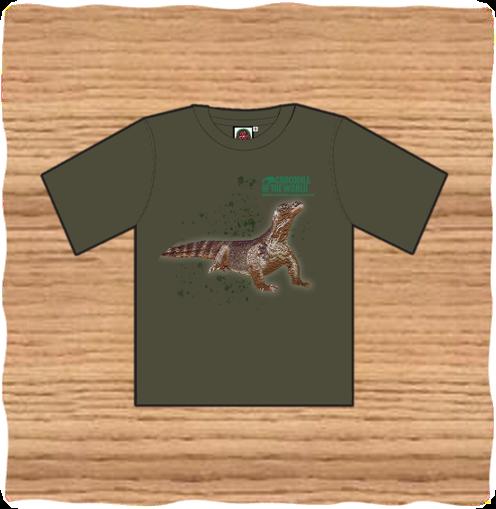 Adult Khaki Komodo T-Shirt
