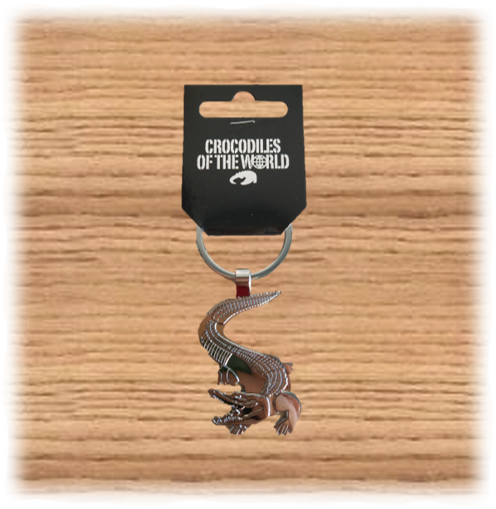COTW Metal Alligator Keyring