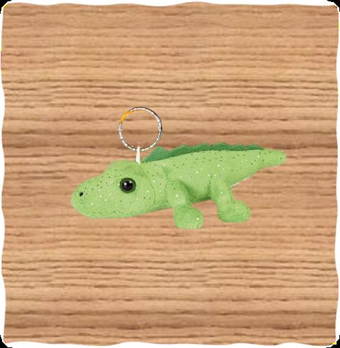 Ravensden Glitter Crocodile Keyring
