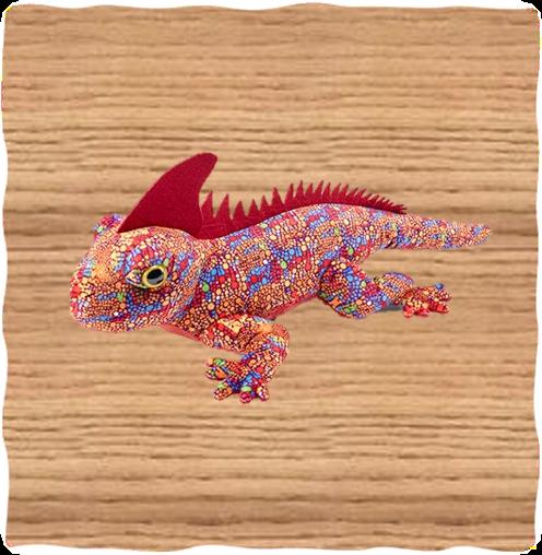 Petjes 50cm Red Iguana