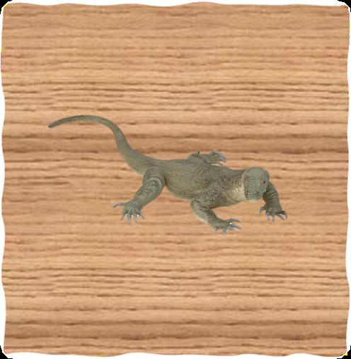 Ravensden 37cm Plastic Komodo
