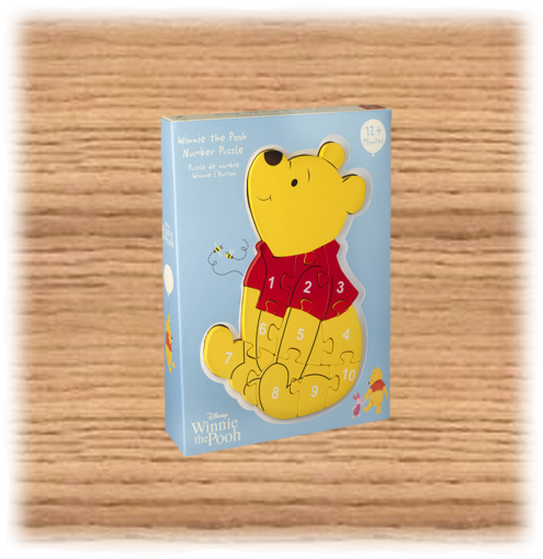 Winnie the Pooh Number Puzzle