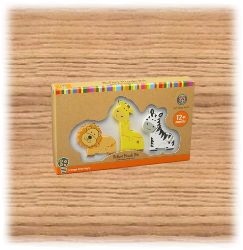 Mini Safari Puzzle Set