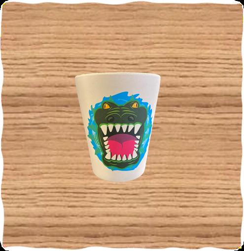 Deluxebase Crocodile Cup