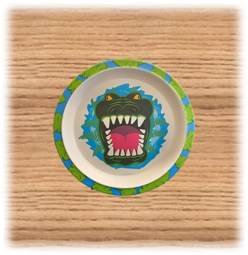 Deluxebase Crocodile Plate