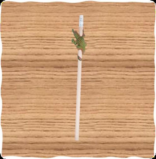 Petjes Crocodile Top Pencil