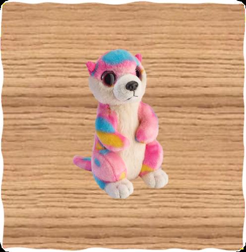 Petjes 17cm Pink Meerkat
