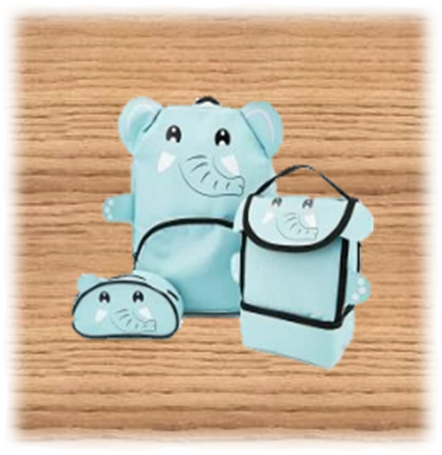 Kids Elephant Bag Set