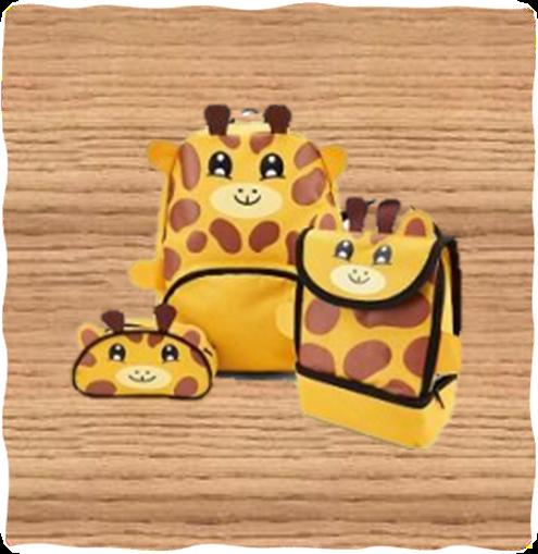 Kids Giraffe Bag Set