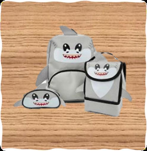 Kids Shark Bag Set