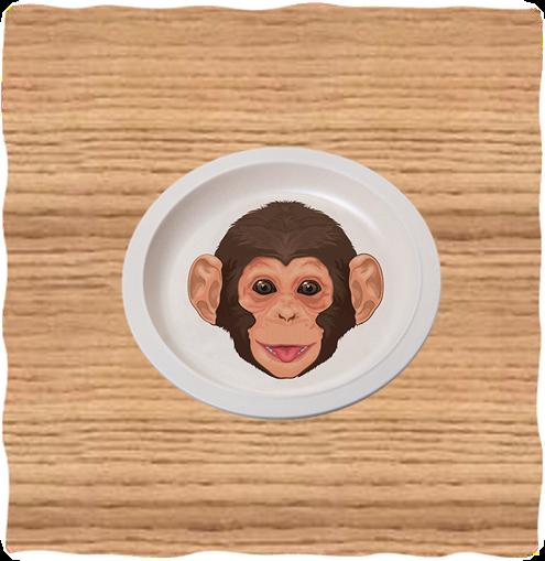 Nature Planet Chimp Plate