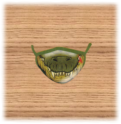 Adults Crocodile Face Mask
