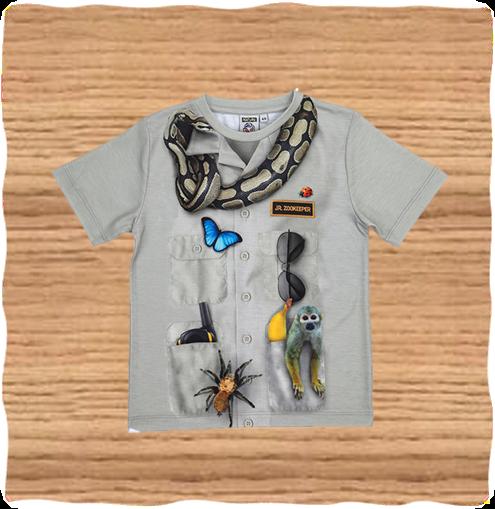 Kids Jr Zoo Keeper T-Shirt