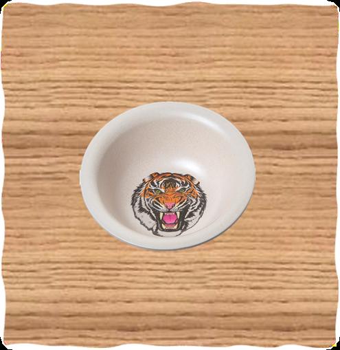 Nature Planet Tiger Bowl