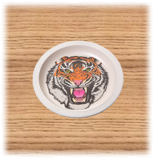 Nature Planet Tiger Plate