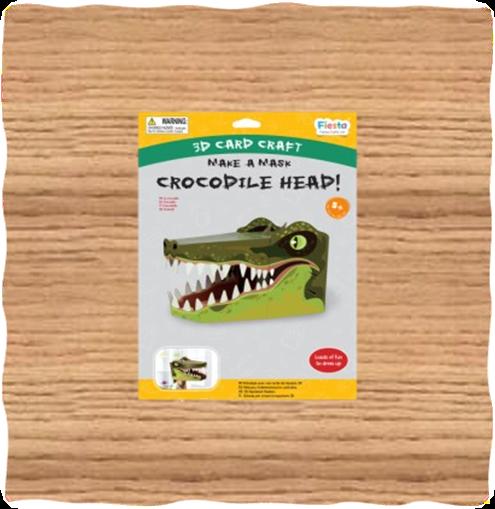 Crocodile 3D Head Mask