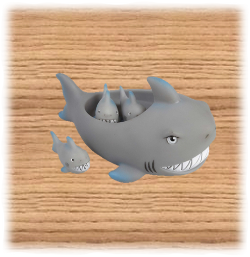 Shark Bath Set