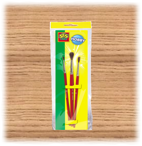 SES Creative Paint Brushes (3 Pack)