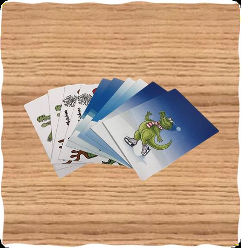 Crocodile Christmas Cards