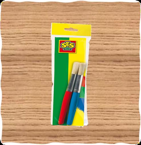 SES Creative Jumbo Paint Brushes (2 Pack)