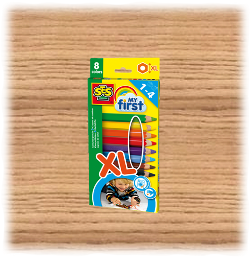 SES Creative My First Coloured Pencils