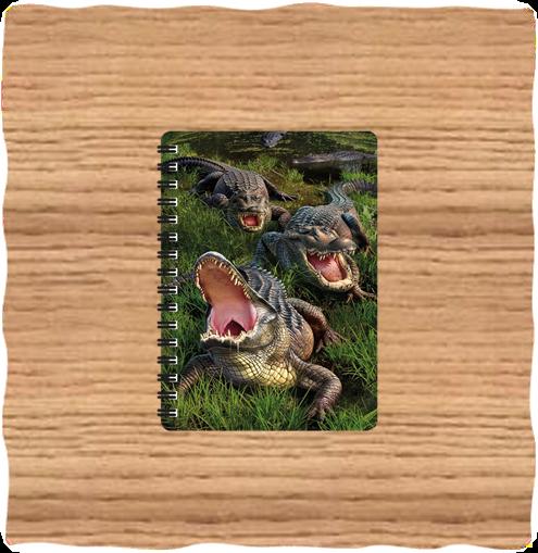Deluxe Base Gator Bog A5 Notebook