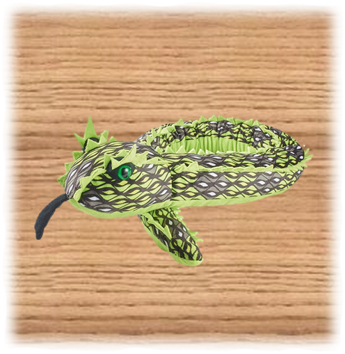 Petjes 137cm Green Horned Viper