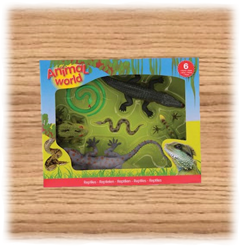 Johntoy Assorted Box of Reptiles