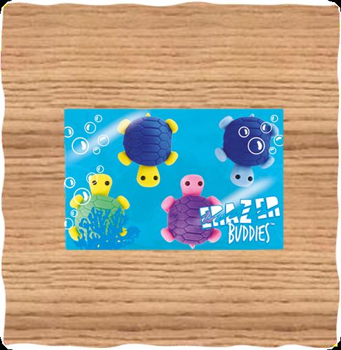 Deluxe Base Mini Turtle Erasers
