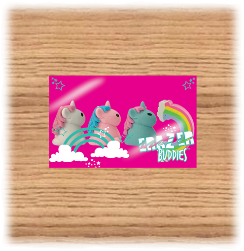 Deluxe Base Mini Unicorn Erasers