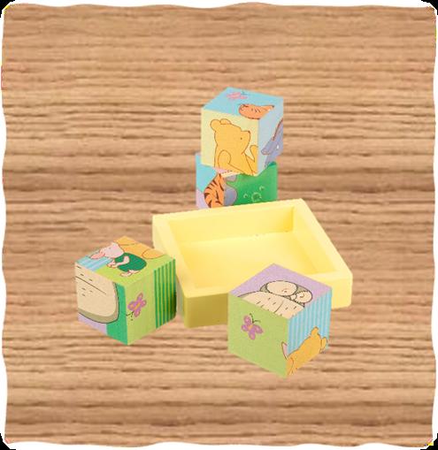 Winnie the Pooh Blocks In Tray