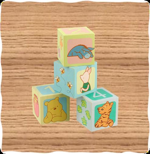 Winnie the Pooh Counting Blocks