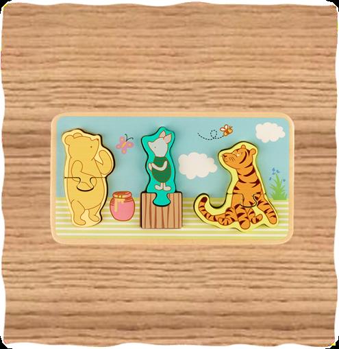Winnie the Pooh Mini Tray Puzzles
